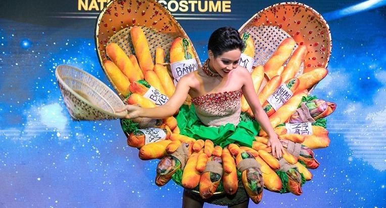 베트남 토착 패스트 푸드로 승화된 프랑스 식민지의 잔재 바게트 /Vietnam Miss Universe  H'Hen Niê & Vietnam baguette Sandwich