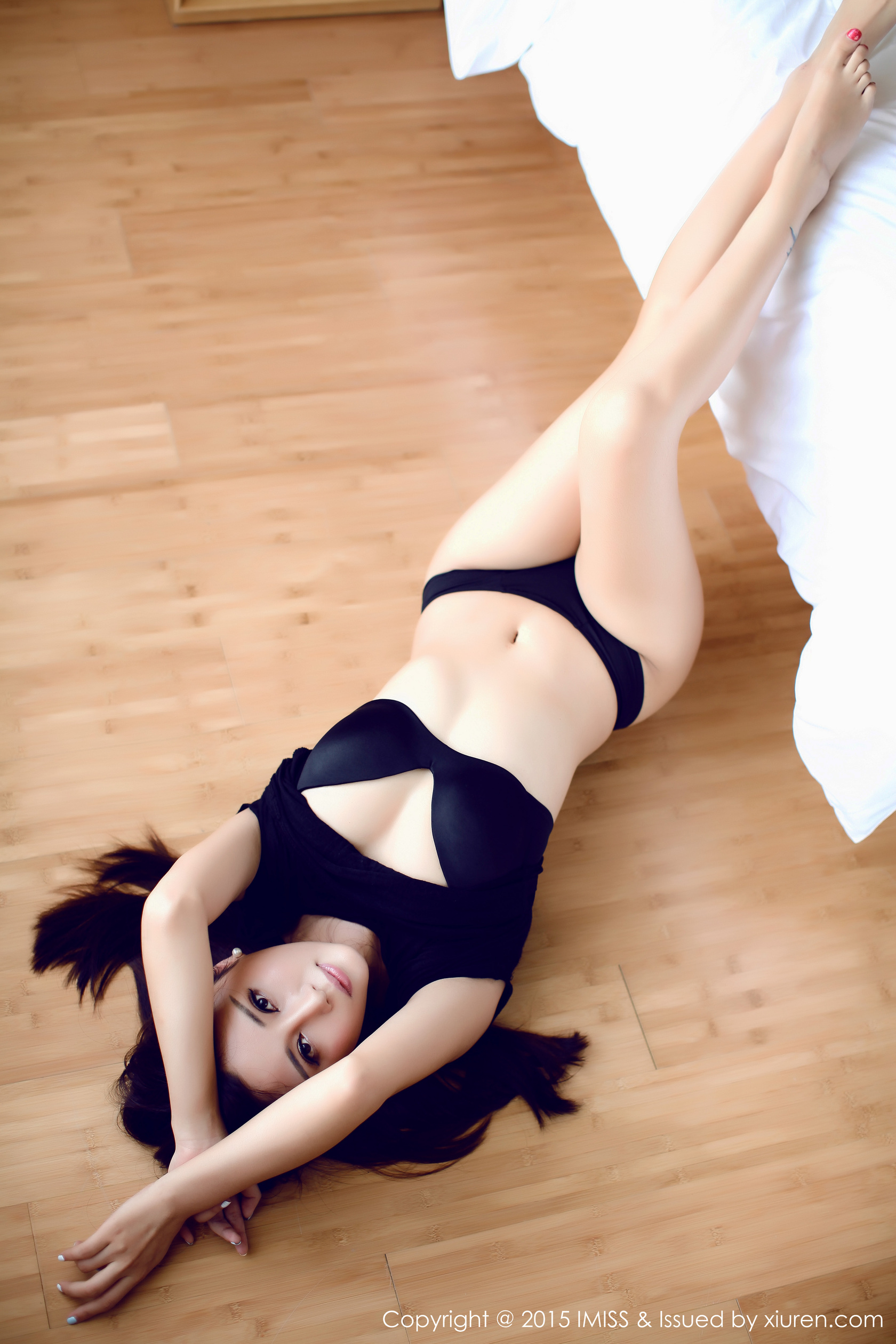 cool Chinese girl in sexy pose